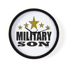 Military Son Wall Clock