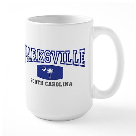 Parksville South Carolina, SC, Palmetto State Flag