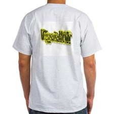 3 D Vegas is HOT Ash Grey T-Shirt