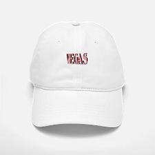 3 D VEGAS Pink lettering Baseball Baseball Cap