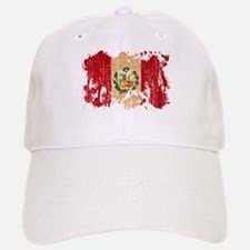 Peru Flag Baseball Baseball Cap