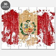 Peru Flag Puzzle