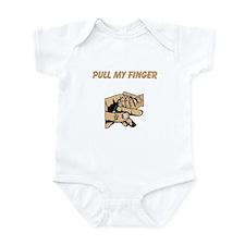 Pull My Finger Infant Bodysuit