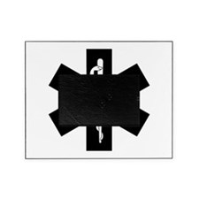 Medic EMS Star Of Life Picture Frame