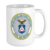 Auxiliary u.s air force Large Mugs (15 oz)