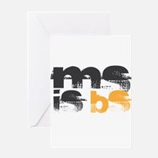 MS is BS (White) Greeting Card
