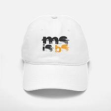 MS is BS (White) Baseball Baseball Cap