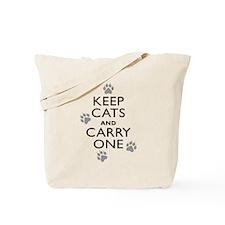 Keep Cats Tote Bag