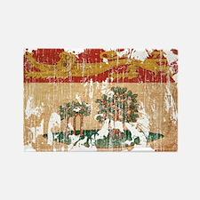 Prince Edward Islands Flag Rectangle Magnet