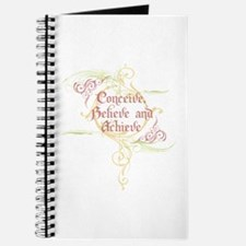 Conceive, Believe and Achieve Journal
