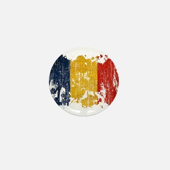 Romania Flag Mini Button