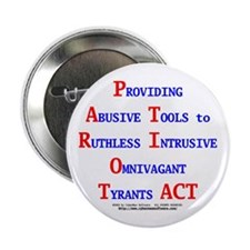 "Patriot Act 2.25"" Button (10 pack)"
