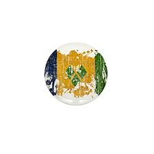 Saint Vincent Flag Mini Button