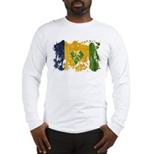 Saint Vincent Flag Long Sleeve T-Shirt