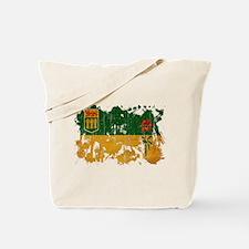 Saskatchewan Flag Tote Bag