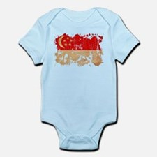 Singapore Flag Infant Bodysuit