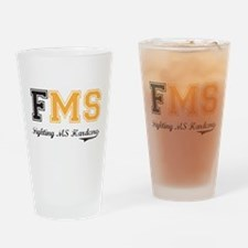 FMS (Boxers) Drinking Glass