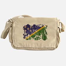 Solomon Islands Flag Messenger Bag