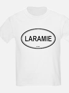 Laramie (Wyoming) Kids T-Shirt