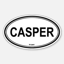 Casper (Wyoming) Oval Decal