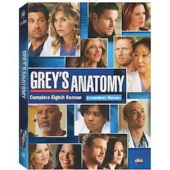 Grey's Anatomy: The Complete Eighth Season