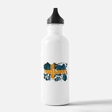 Sweden Flag Water Bottle