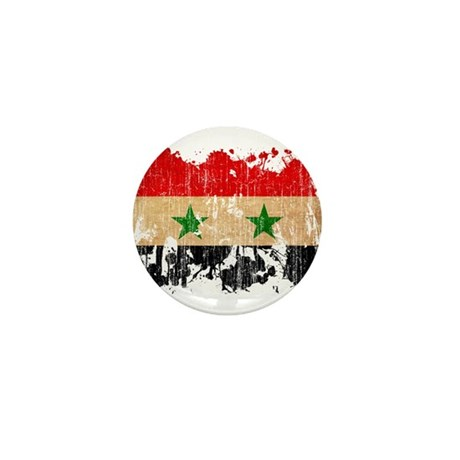 Syria Flag Mini Button (10 pack)