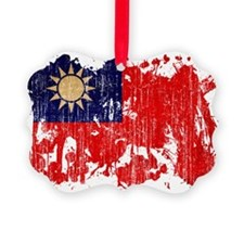 Taiwan Flag Ornament