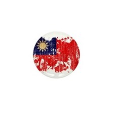 Taiwan Flag Mini Button