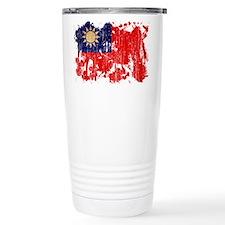 Taiwan Flag Travel Mug