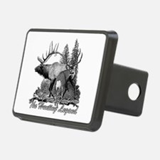 Dad the hunting legend 3 Hitch Cover
