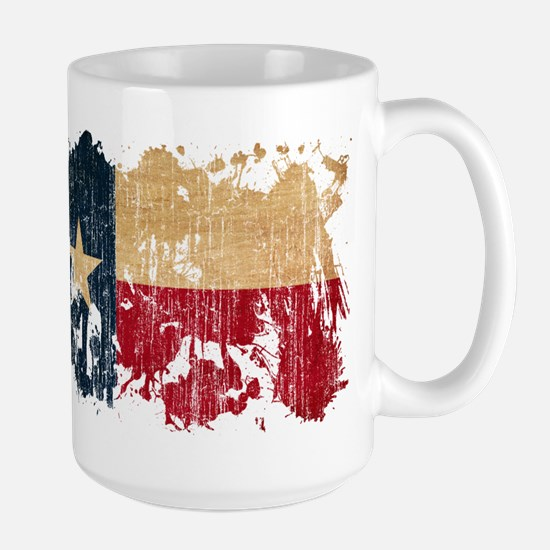 Texas Flag Large Mug