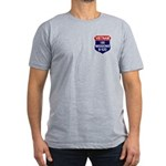 100 Missions Men's Fitted T-Shirt (dark)