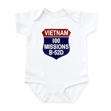 100 Missions Infant Bodysuit