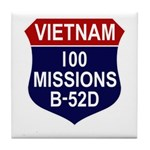 100 Missions Tile Coaster