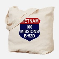 100 Missions Tote Bag