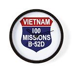 100 Missions Wall Clock
