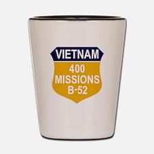 400 Missions Shot Glass