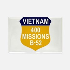 400 Missions Rectangle Magnet