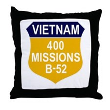 400 Missions Throw Pillow