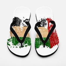 United Arab Emirates Flag Flip Flops