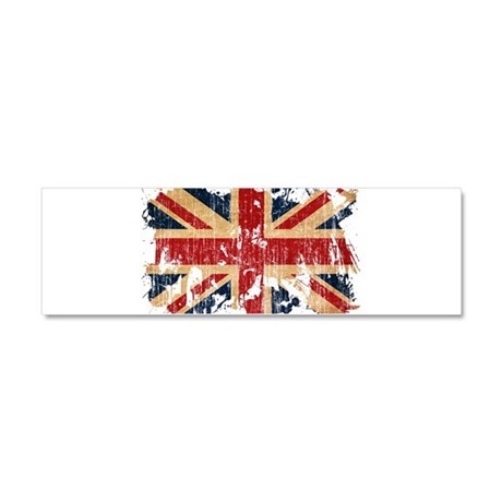 United Kingdom Flag Car Magnet 10 x 3