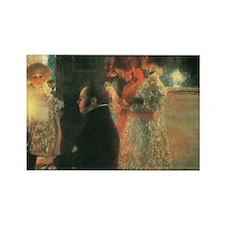 Schubert by Klimt Rectangle Magnet
