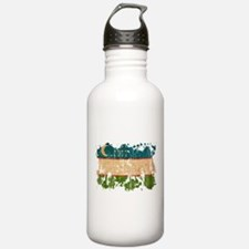 Uzbekistan Flag Water Bottle