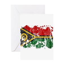 Vanuatu Flag Greeting Card