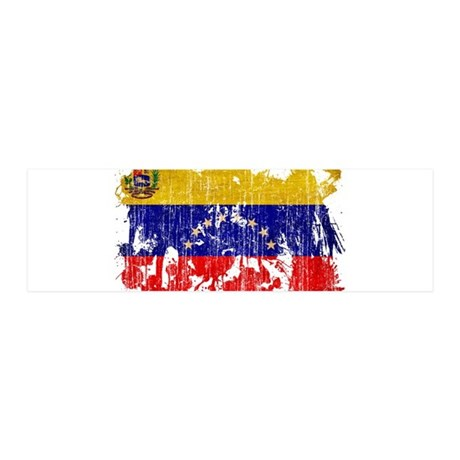 Venezuela Flag 42x14 Wall Peel