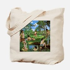 Bathers by Bazille Tote Bag