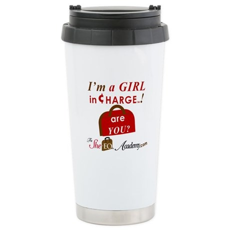 Stainless Steel SheEO Academy Travel Mug