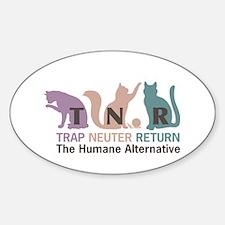 Trap Neuter Return Sticker (Oval)