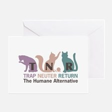 Trap Neuter Return Greeting Card